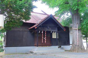 中の島神社 拝殿