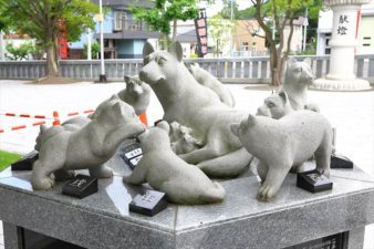 西野神社 創祀120周年記念碑