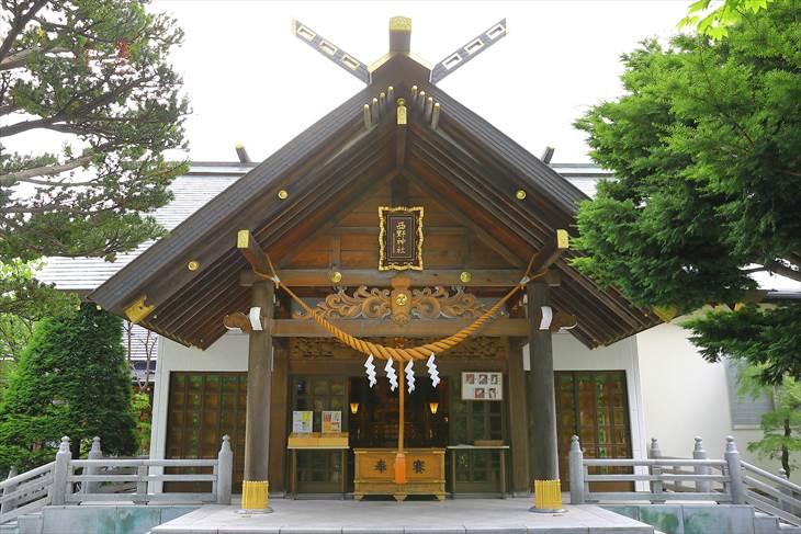 西野神社 本殿