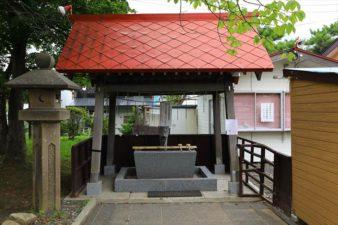 西岡八幡宮 手水舎
