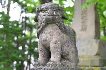 丘珠神社 狛犬様