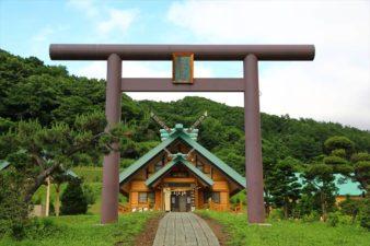 札幌御嶽神社 鳥居
