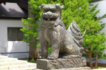 烈々布神社 狛犬様