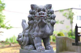 三里塚神社 狛犬様