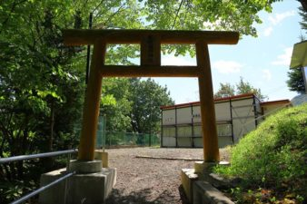 札幌藤野神社 第一鳥居