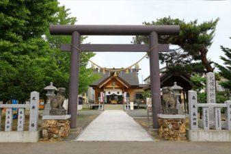 札幌村神社 鳥居