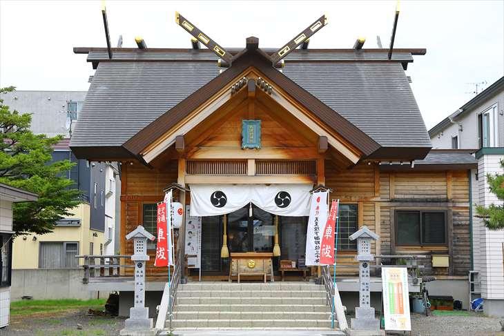 札幌村神社 本殿