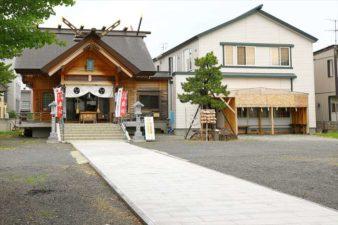 札幌村神社 参道と境内