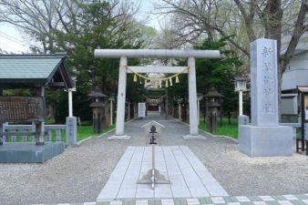 新琴似神社 入口と鳥居