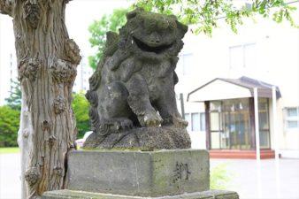 篠路神社 狛犬様