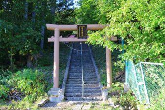 白川神社 入口と鳥居