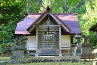 白川神社 本殿