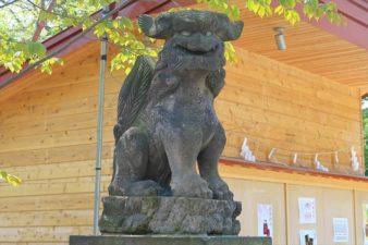 相馬神社 狛犬様