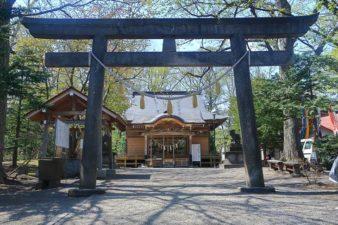 相馬神社 第2鳥居と本殿