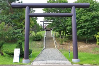 澄丘神社 入口と鳥居