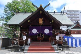 北海道神宮頓宮 本殿