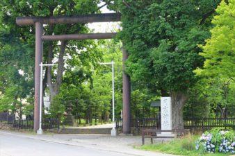 月寒神社 鳥居と入口