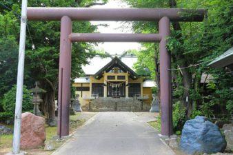 月寒神社 第2鳥居と本殿