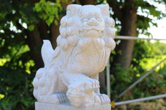 山口神社 狛犬様