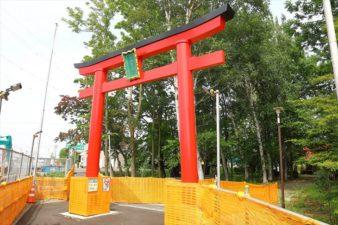 山本稲荷神社 入口の鳥居