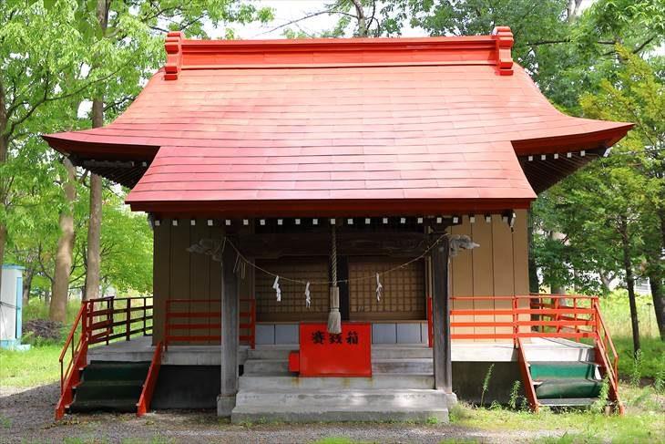 山本稲荷神社 本殿