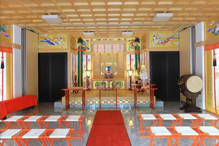 西野神社 儀式殿