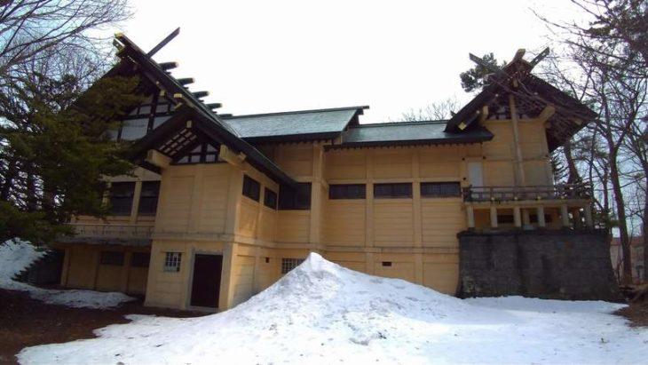 月寒神社 社殿