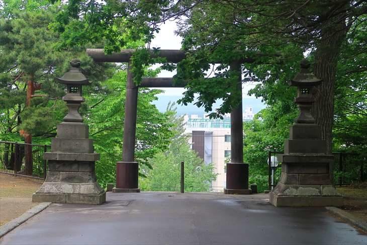 厚別神社 第2鳥居