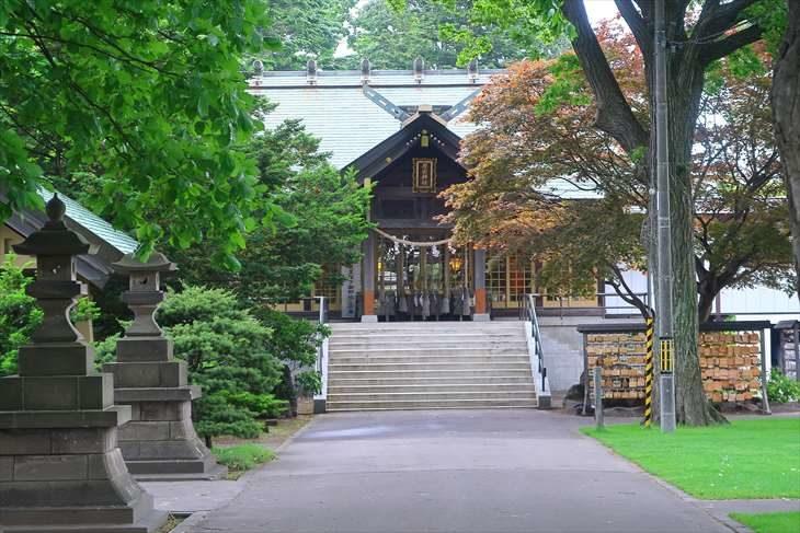 厚別神社 参道