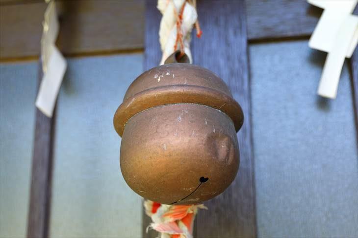 上盤渓神社の鈴