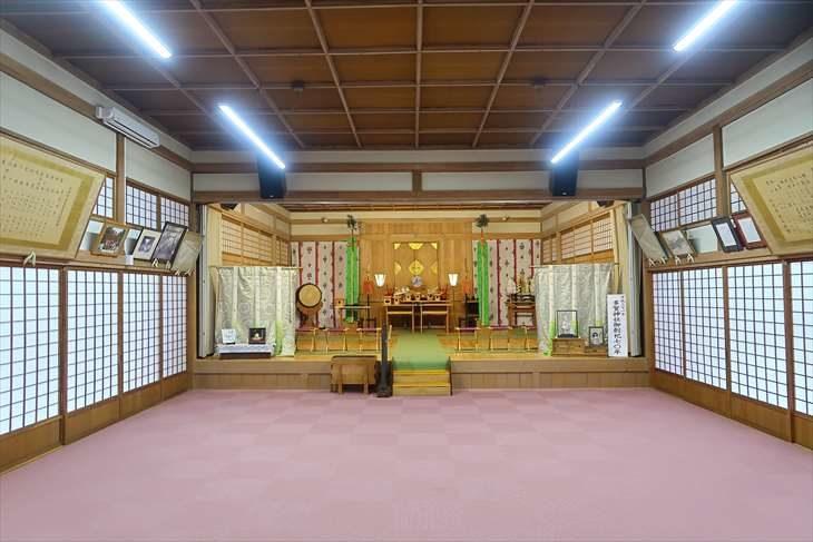 多賀神社 拝殿