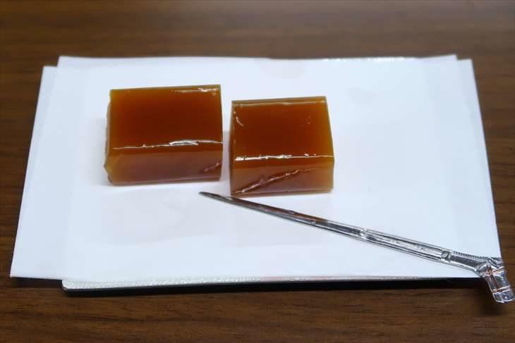 札幌護国神社 呈茶席の和菓子