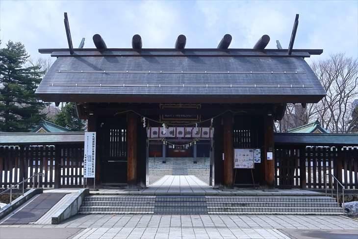 札幌護国神社 神門
