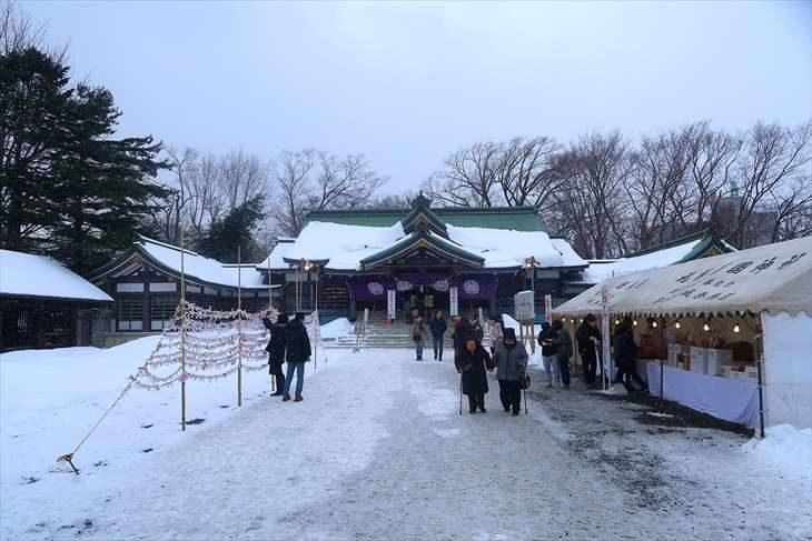 札幌護国神社 お正月