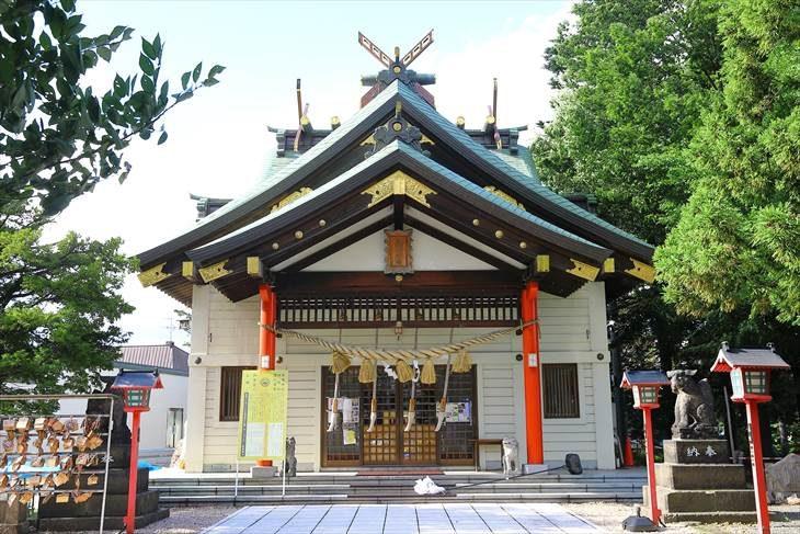 発寒神社 社殿