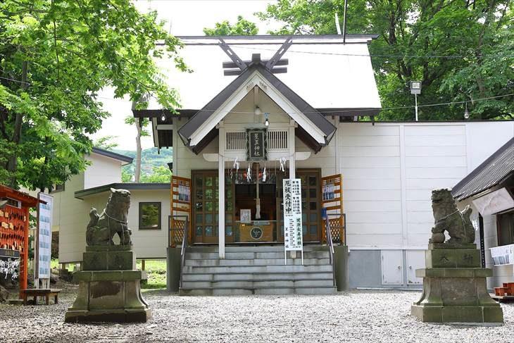 星置神社 社殿