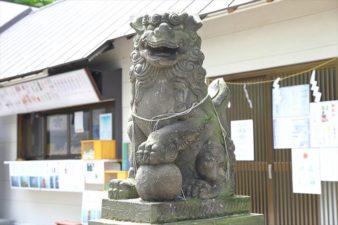 星置神社 狛犬様