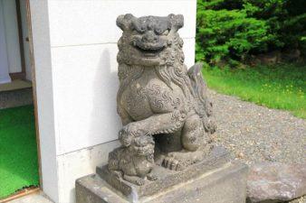 上手稲神社 狛犬様