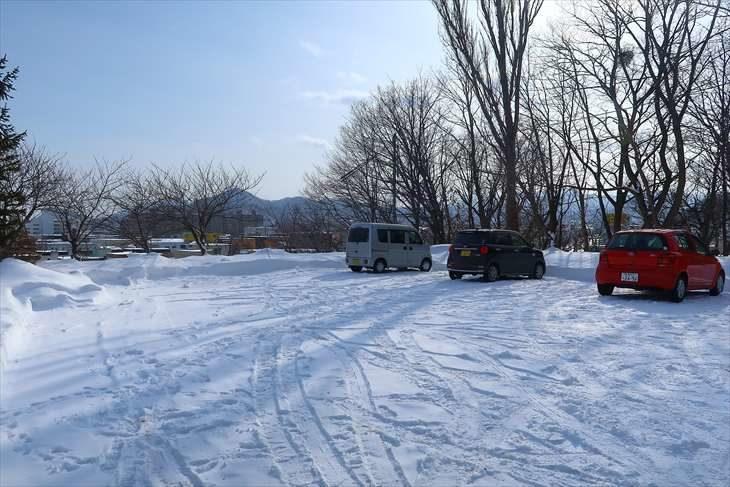 上手稲神社 駐車場