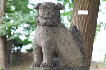 江南神社 狛犬様