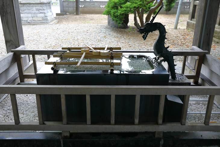 江南神社 手水