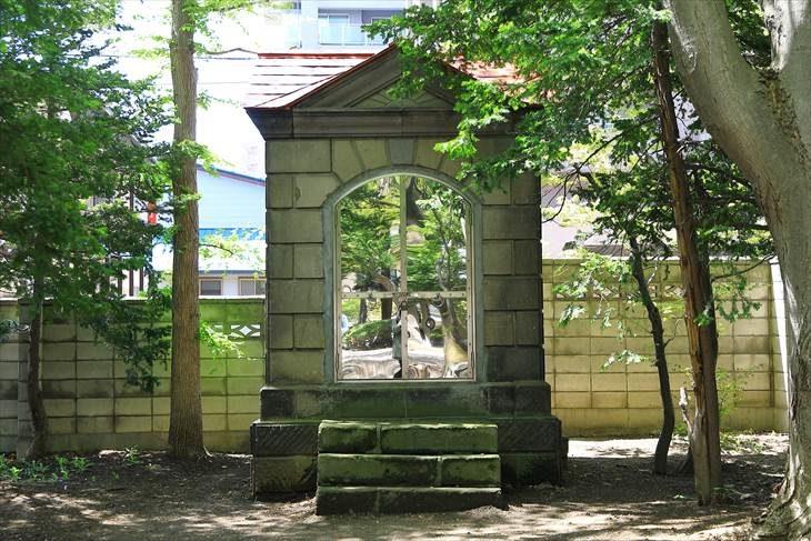 琴似神社 石蔵