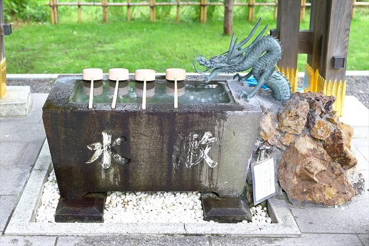 西野神社 手水鉢