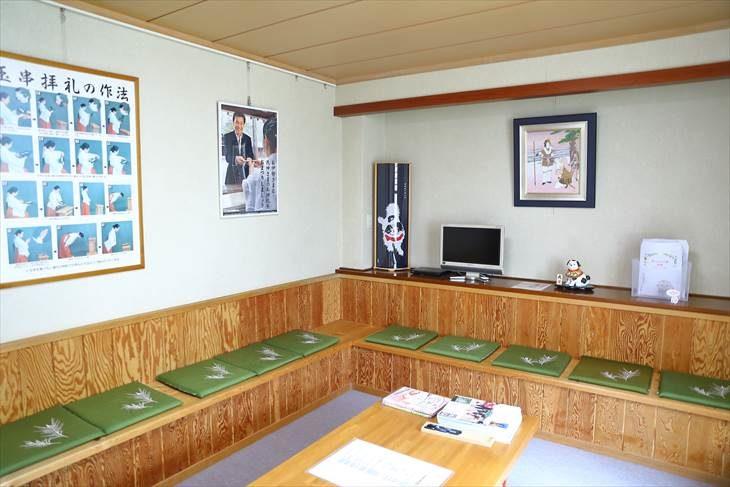西野神社 社務所待合室