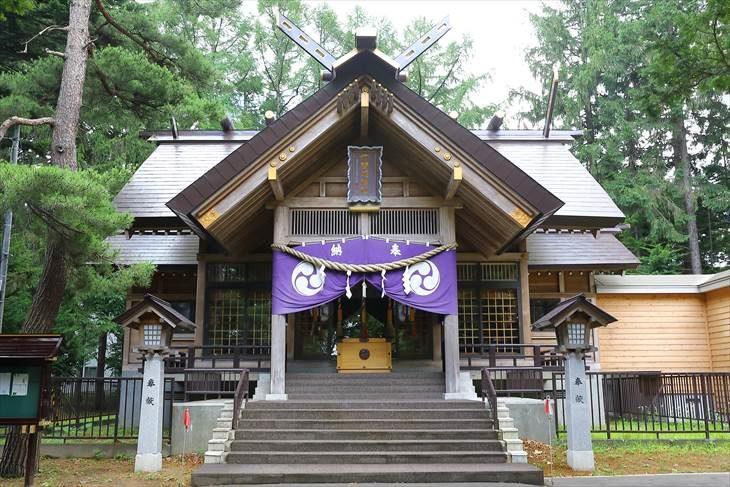 大谷地神社 拝殿
