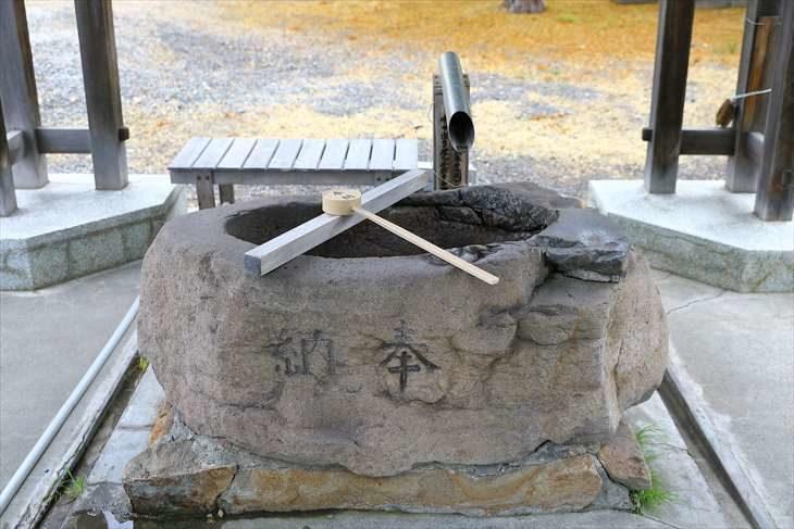 札幌村神社 手水鉢