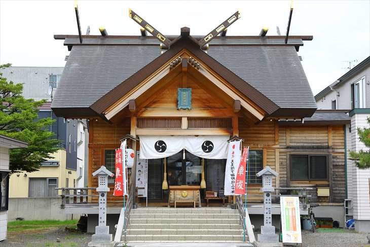 札幌村神社 社殿
