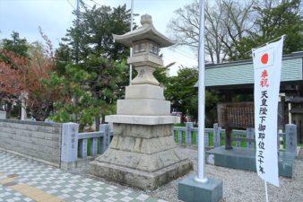 新琴似神社 石灯籠