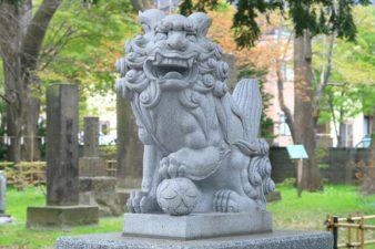 新琴似神社 狛犬様