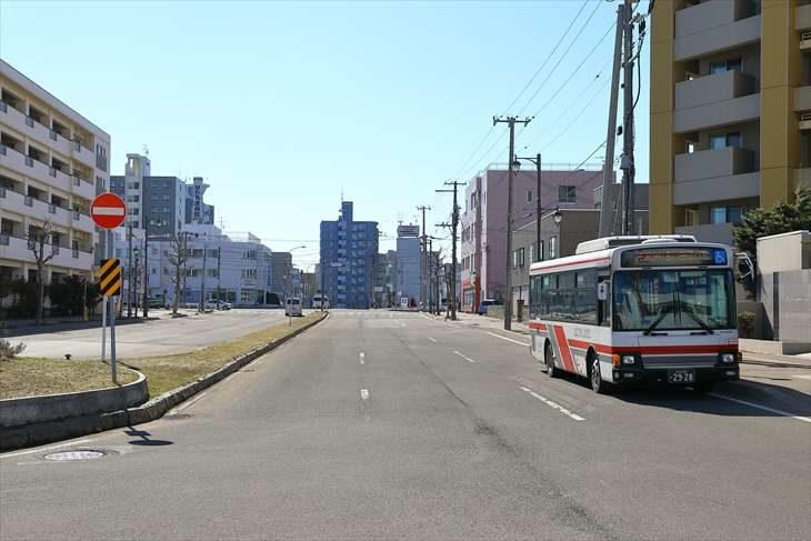 厚別駅 南口からの風景